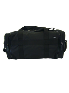 Kit Bag - Compact black gym bag