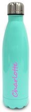 Load image into Gallery viewer, Personalised Stainless Steel Water Bottle  Insulated - Mint Green