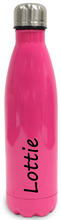 Load image into Gallery viewer, Personalised Stainless Steel Water Bottle  Insulated - Rose Red