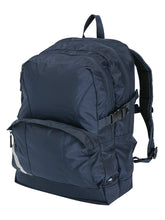 Load image into Gallery viewer, Marathon Chiropak Endorsed Back Care Backpack Navy side view