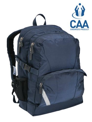 Marathon Chiropak - Endorsed Back Care Backpack - Navy