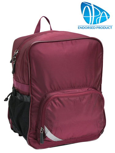 PhysioPak - Back Friendly School Bag, Back Pack, Endorsed - various colours