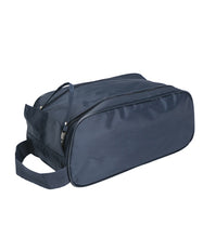 Load image into Gallery viewer, Shoe Bag - practical - roomy - black and navy