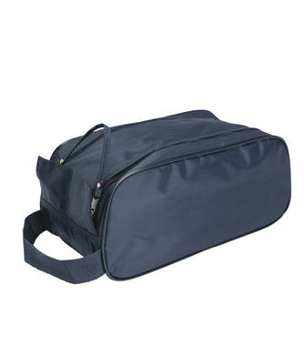 Shoe Bag - practical - roomy - black and navy
