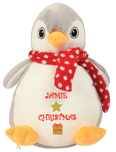 Personalised Christmas Penguin