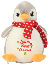 Load image into Gallery viewer, Personalised Christmas Penguin