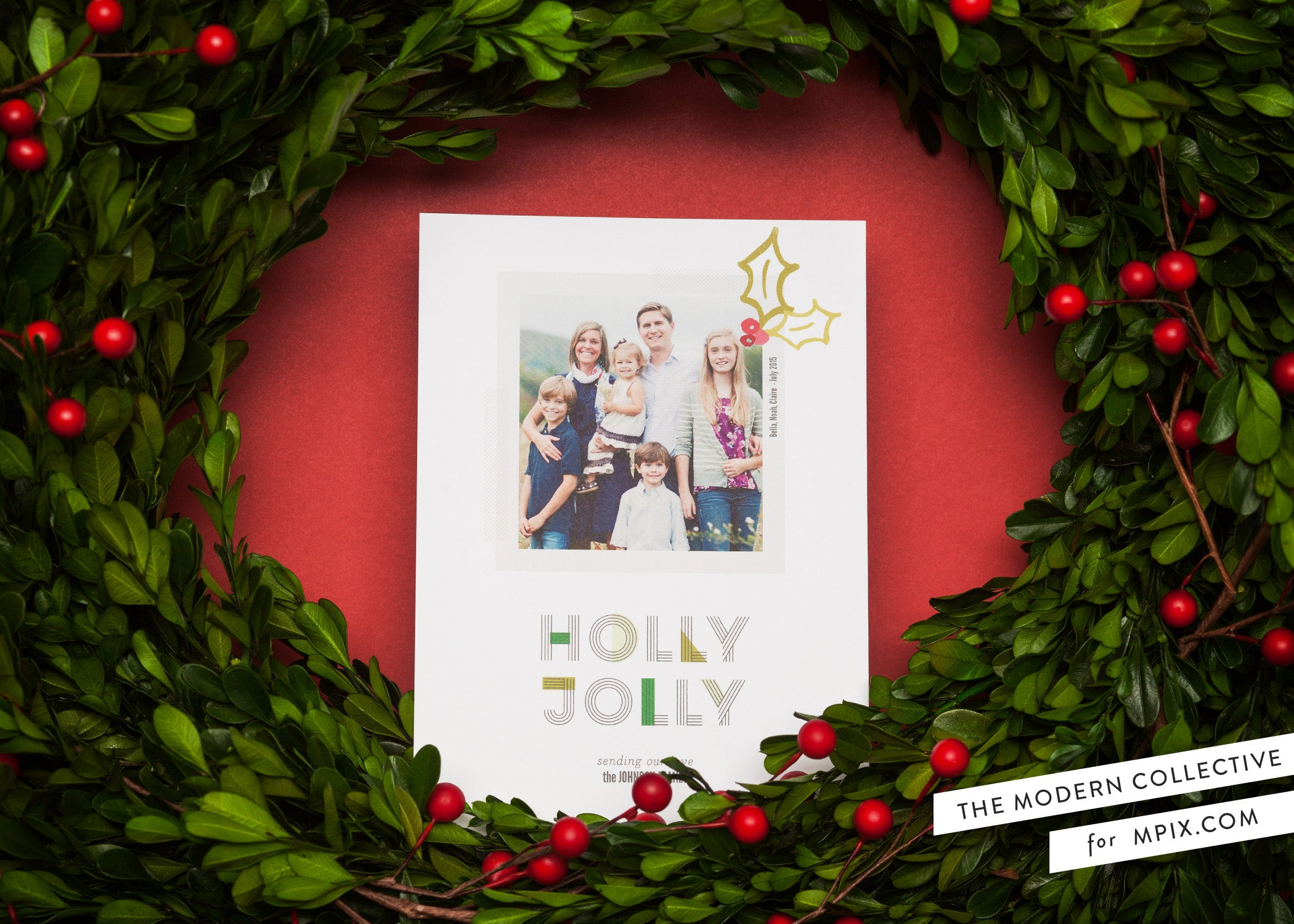 Holy Holiday Card for Mpix.com
