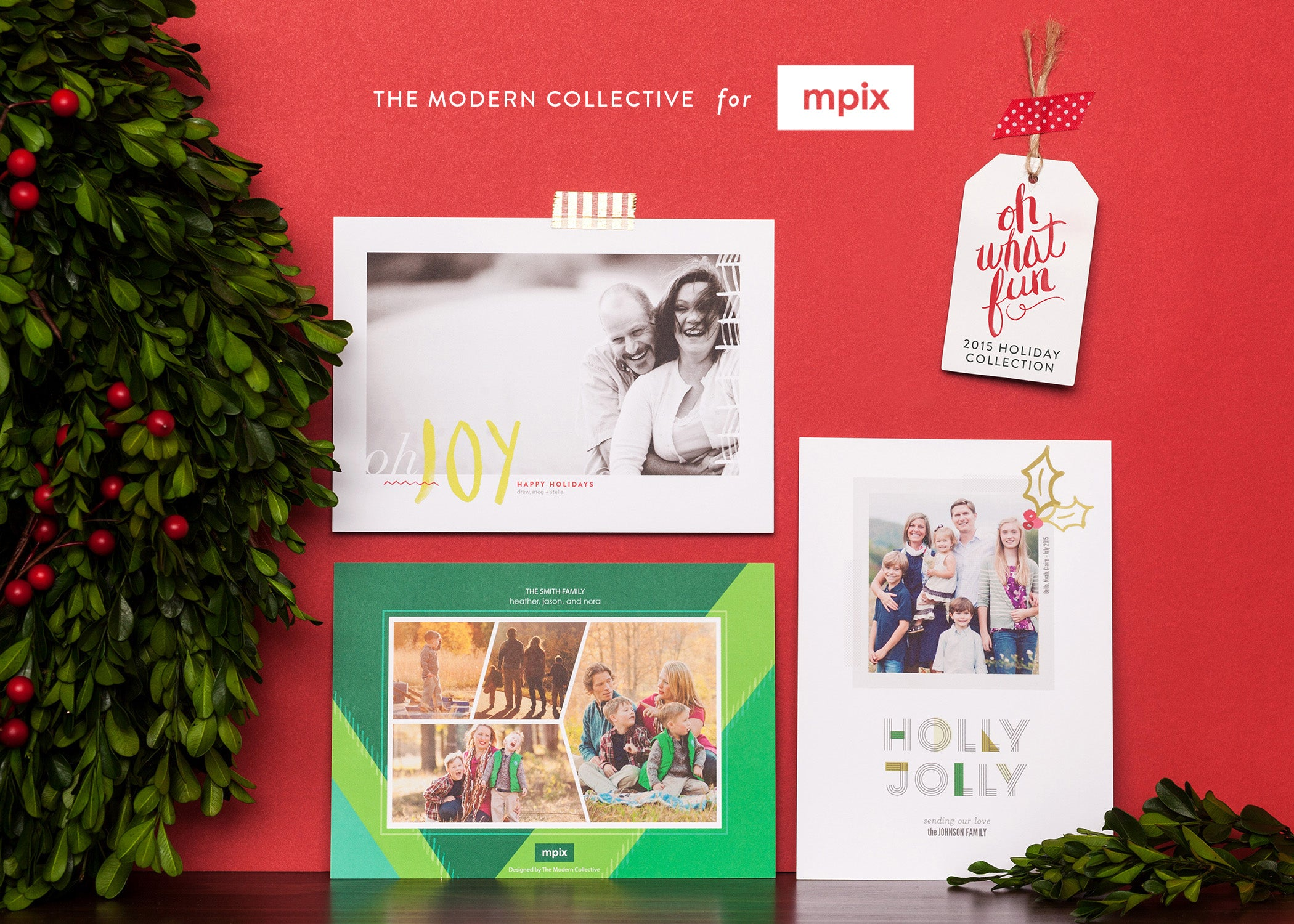 The Modern Collective Holiday Collection for Mpix.com