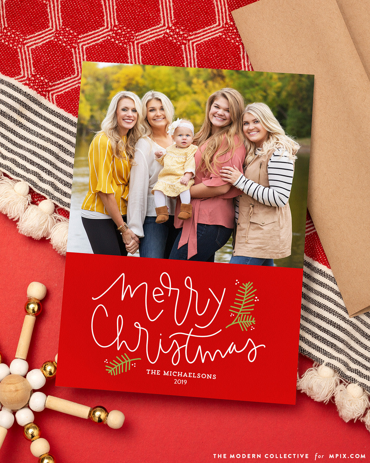 Merry Berry Photo Christmas Card