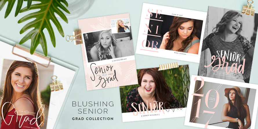Blushing Senior Grad Collection