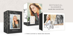 Botanical Summer Image Box Collection // Custom Proof Boxes