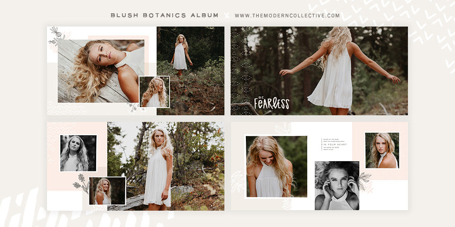 Blush Botanics // Album Design