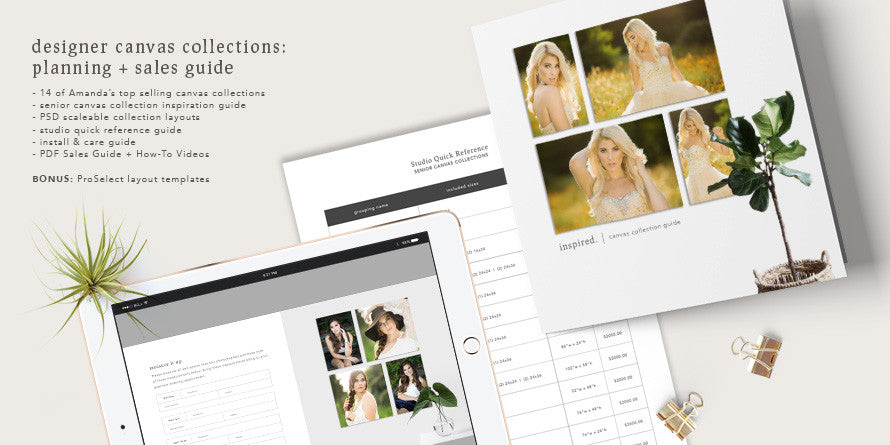 designer canvas collection templates