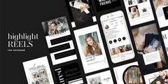 Highlight Reels // Instagram Story Templates