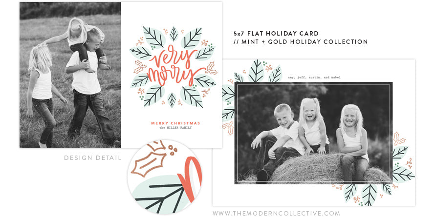 Mint and Merry Holiday Collection