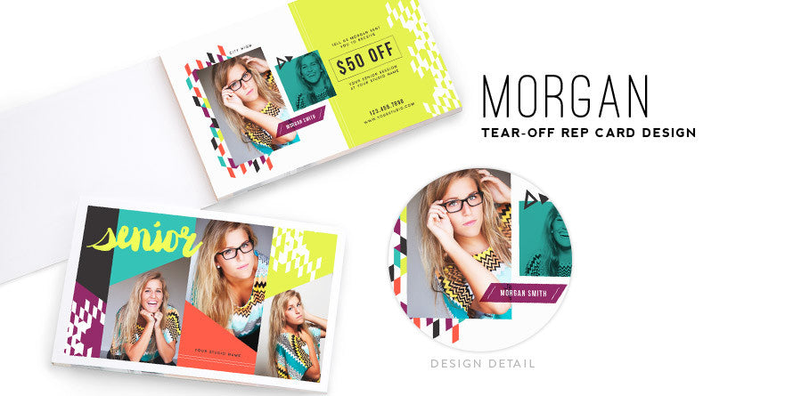 Senior Tear-Off Rep Cards // Vol. 2