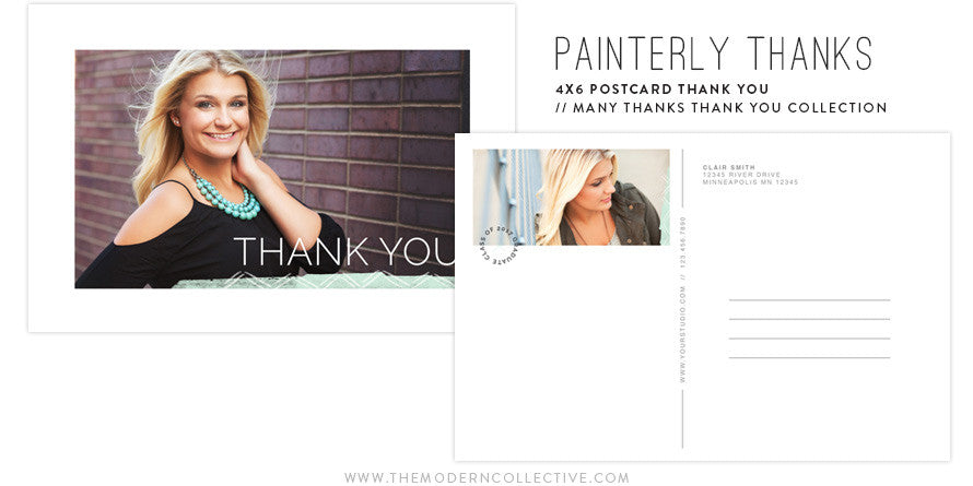 Many Thanks | Thank You Postcard Collection