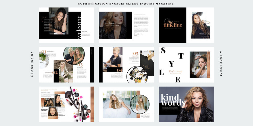 Sophistication Engage - The Client Inquiry Magazine