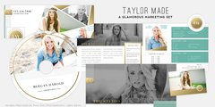 Taylor Made // A Gold Foil Marketing Set