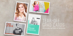 Senior Tear-Off Grad Cards // Vol. 1