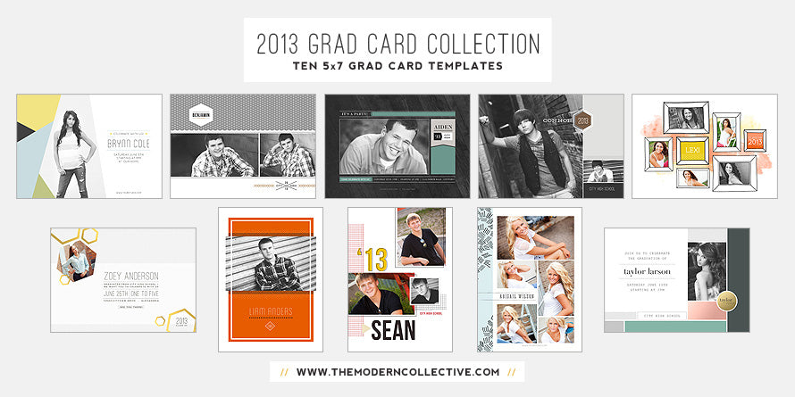 2013 Grad Card Collection