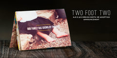 Two Foot Two // Birth Announcement