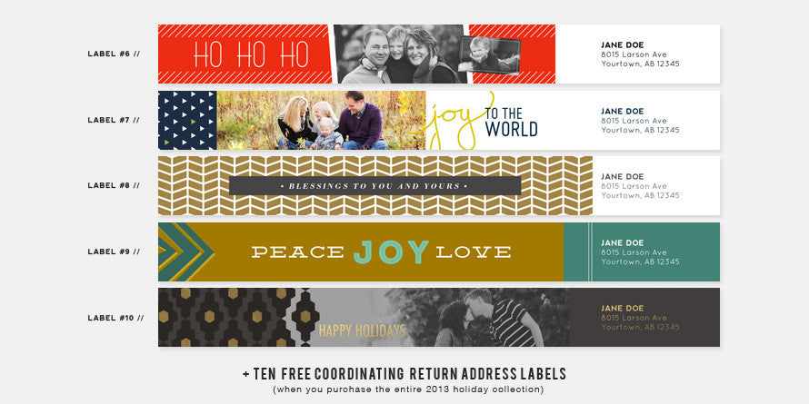 2013 Holiday Card Collection