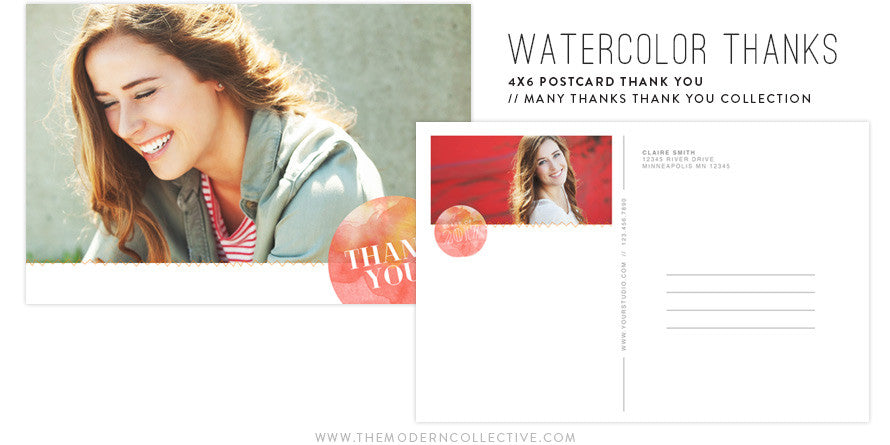 many thanks thank you postcard collection the modern collective