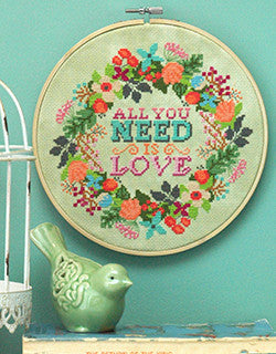 How to Finish your Needlework in an Embroidery Hoop in 5 easy steps