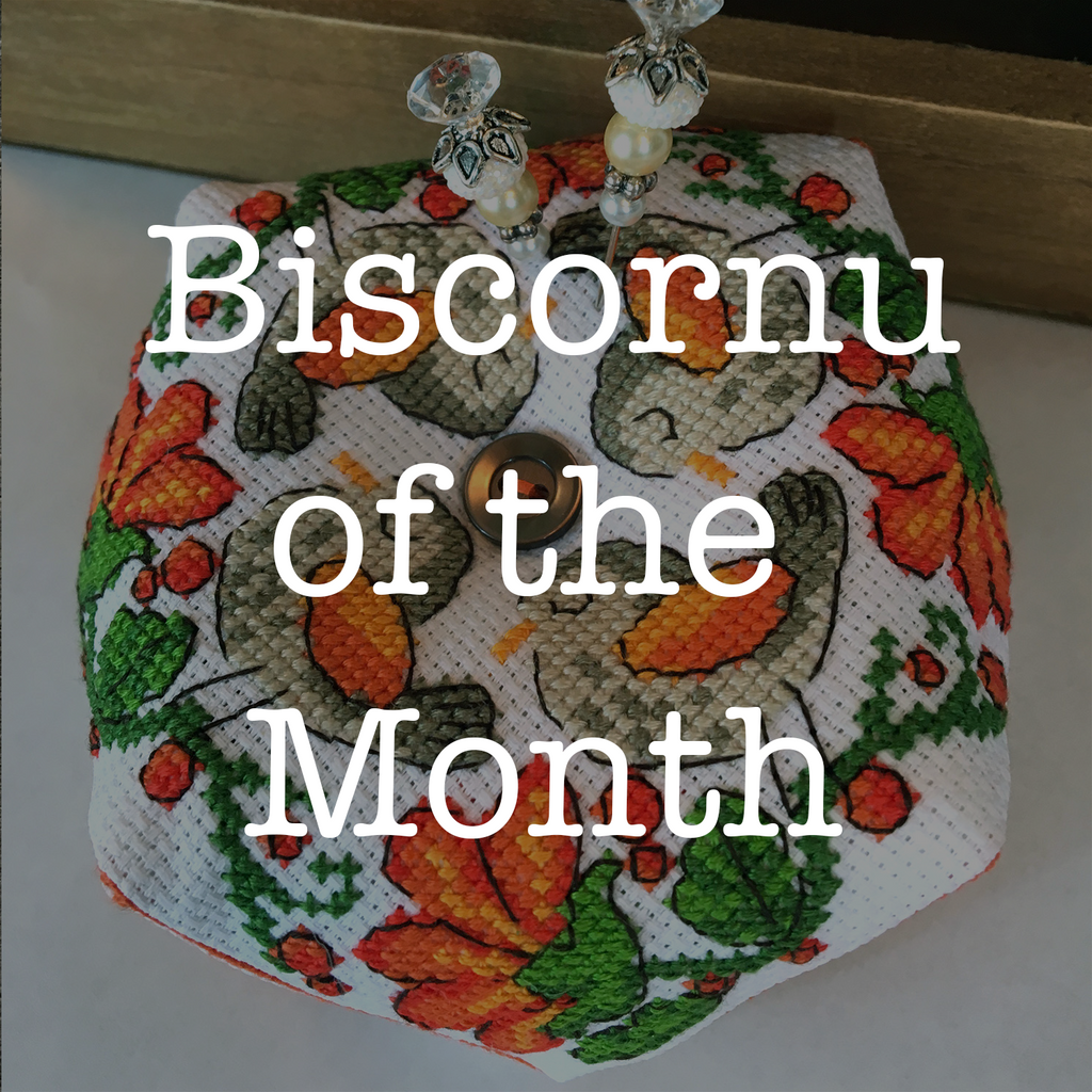 Biscornu of the Month