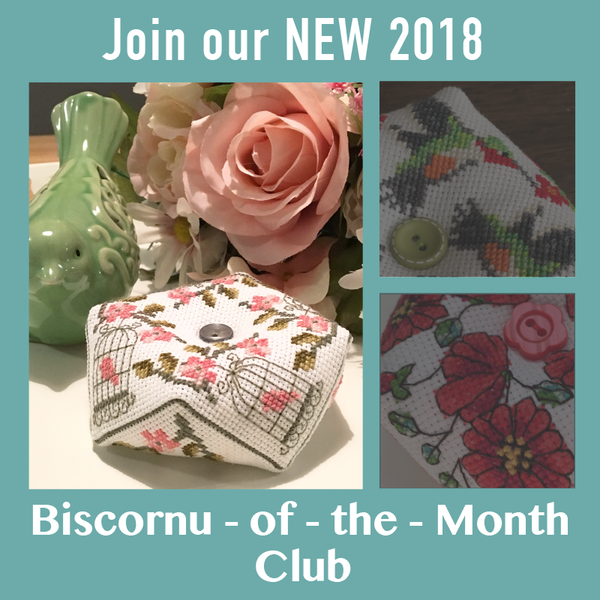 2018 Biscornu of the Month Club