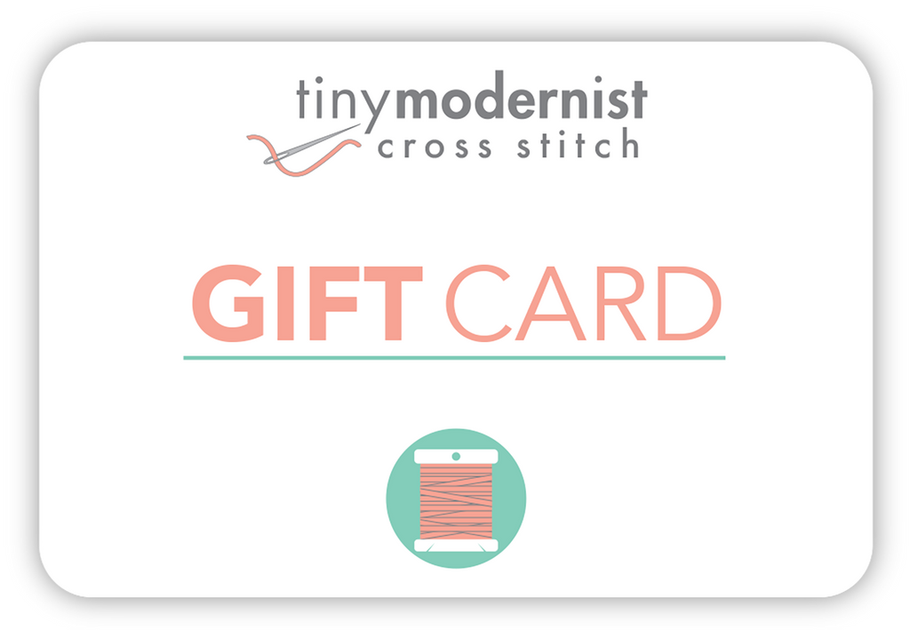 Tiny Modernist Gift Card