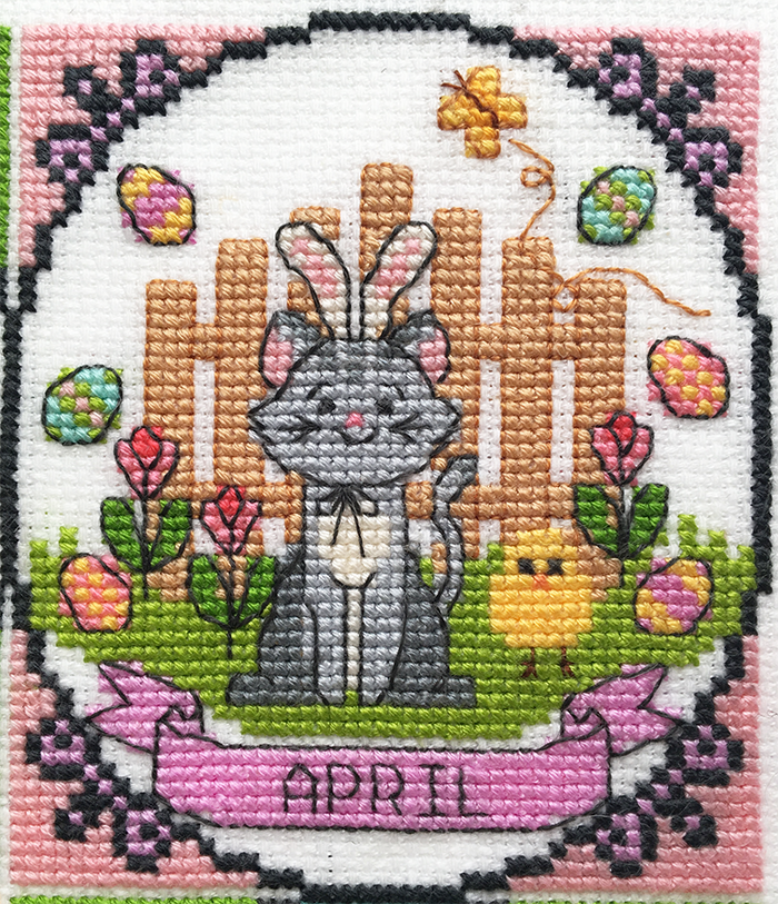 2018 Stitch A Long: A year of animal fun