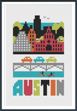 Austin Cross Stitch Pattern Instant Download