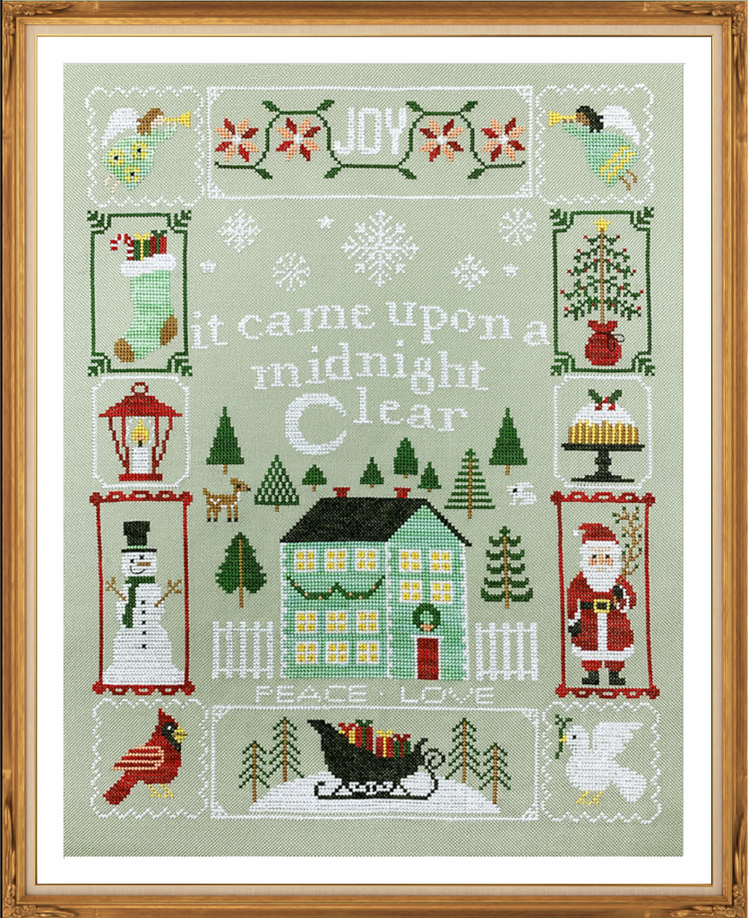 2020 Holiday SAL: Christmas Dreams Cross Stitch Pattern