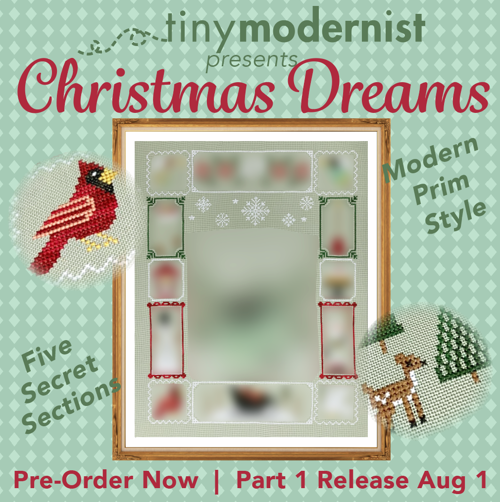 Christmas Dreams 2020 2020 Holiday SAL: Christmas Dreams Cross Stitch Pattern – Tiny