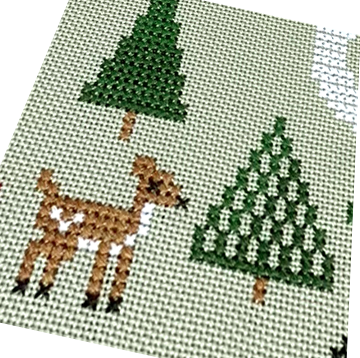 2020 Holiday SAL: Christmas Dreams Cross Stitch Pattern – Tiny