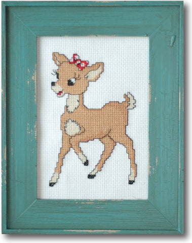 Retro Clarice Cross Stitch Pattern Instant Download