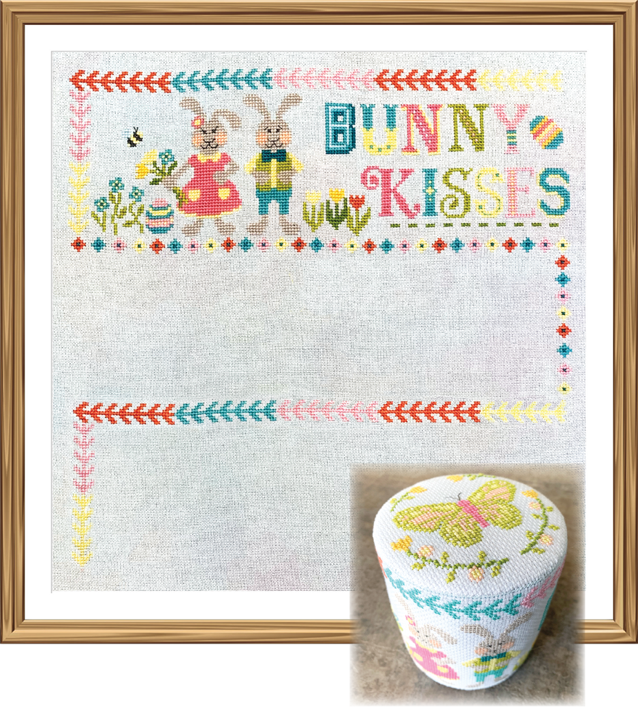 2020 Spring SAL: Easter Wishes Cross Stitch Pattern