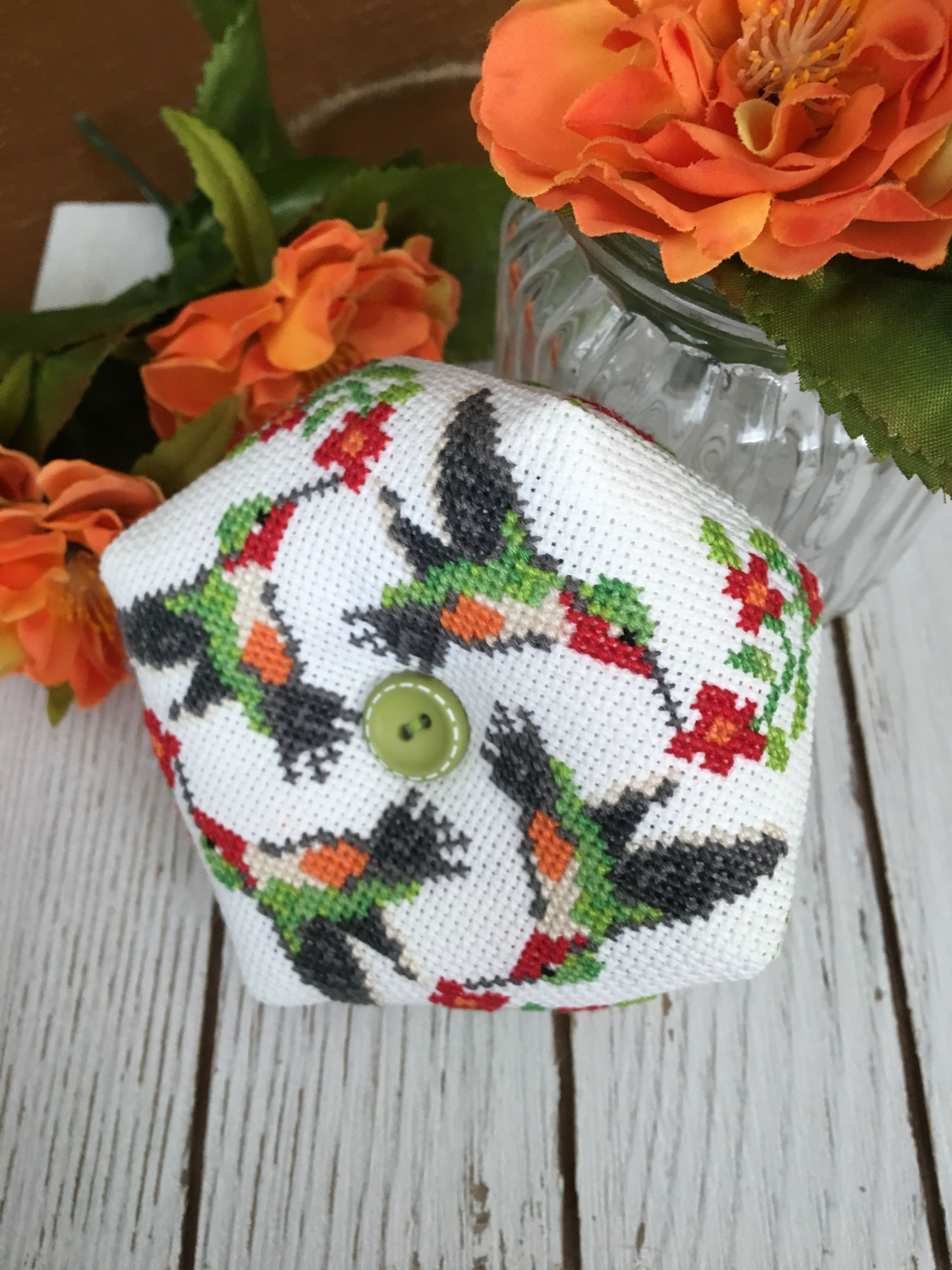 Counted Cross Stitch Patterns Needlework for Embroidery Hummingbirds Spring