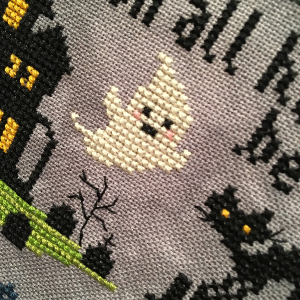 2019 Halloween SAL: Sleepy Hollow Cross Stitch Pattern