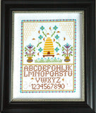 Beehive Sampler Cross Stitch Pattern Instant Download