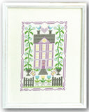 Butterfly House Cross Stitch Pattern Instant Download