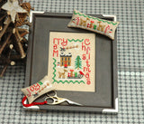 Chrstmas Trio Cross Stitch Pattern Instant Download