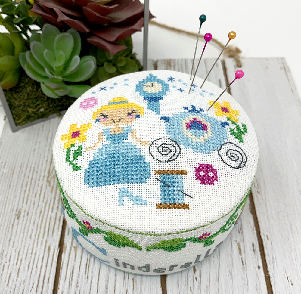 Cinderella Pin Cushion - Fairy Tale Series Cross Stitch Pattern