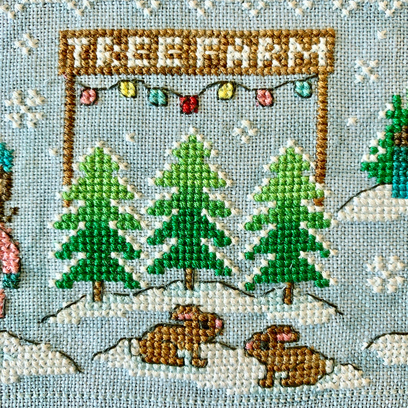 PRE-ORDER 2019 Holiday SAL: Christmas Village Cross Stitch Pattern