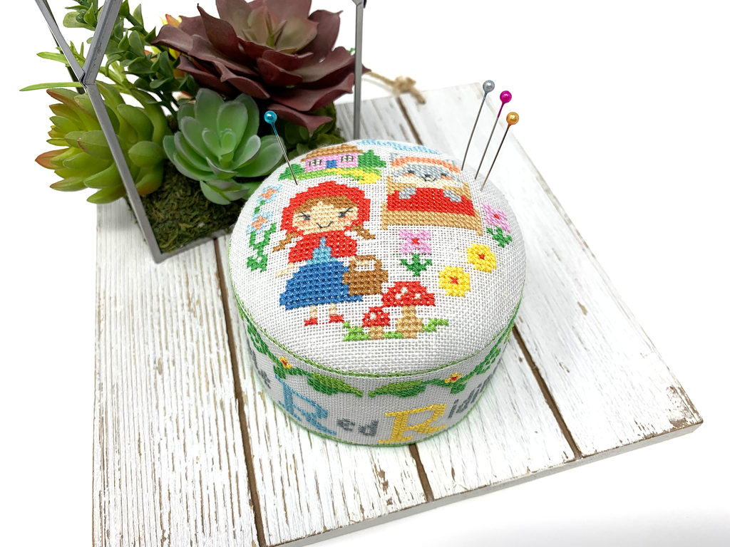2021 Pin Cushion of the Month Club - Fairy Tale Series Cross Stitch Patterns