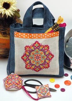 Sew Boho Mandala Cross Stitch Pattern Instant Download