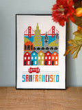 San Francisco Cross Stitch Chart Instant Download