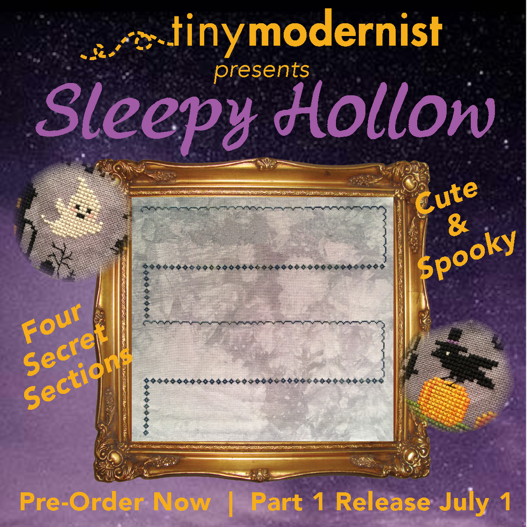 PRE-ORDER 2019 Halloween SAL: Sleepy Hollow Cross Stitch Pattern